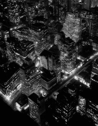 Naktinis vaizdas, New York, 1932, Berenice Abbott