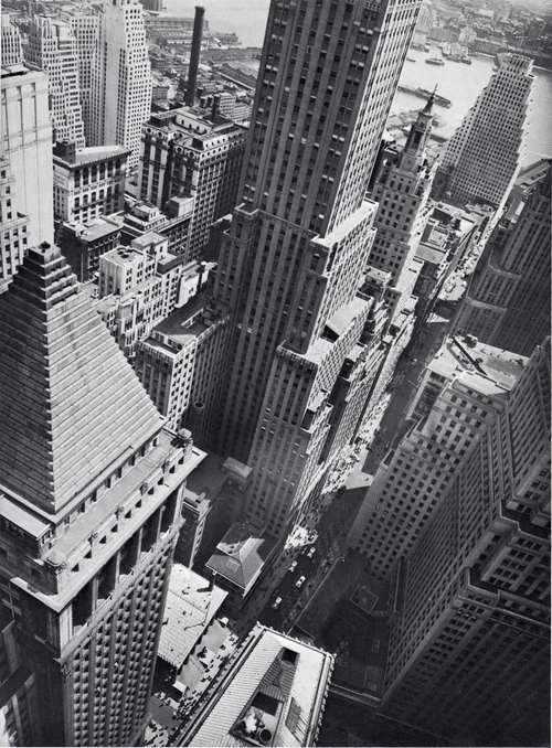 Žemutinis Manhatan'as, 1938, Berenice Abbott
