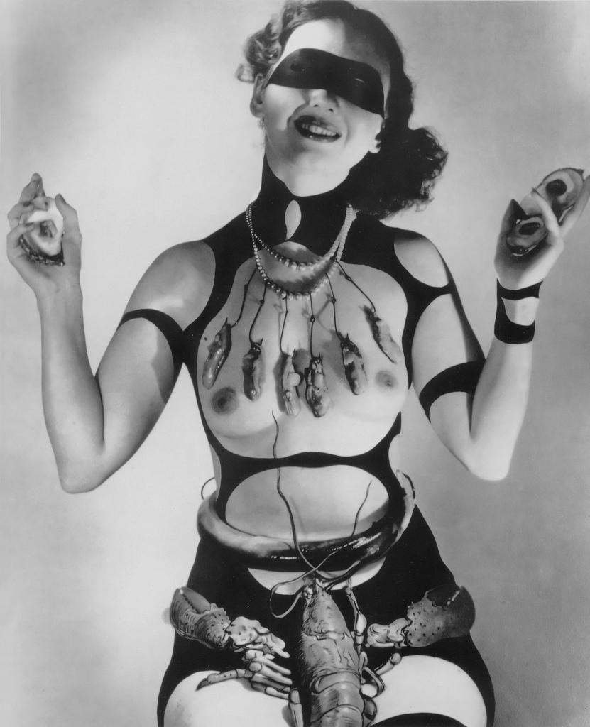 Salvador Dalí ir Horst P. Horst kostiumas filmui Veneros sapnas - 1939