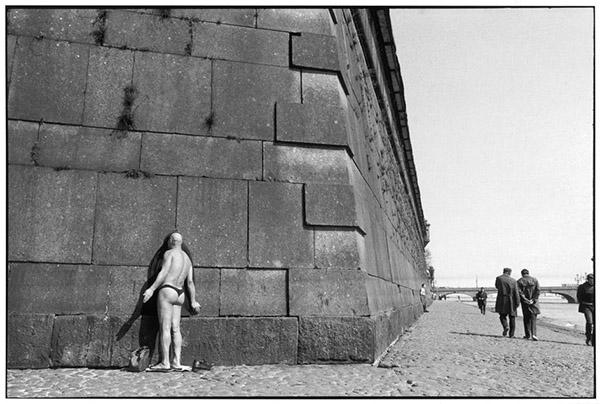Sovietų sąjunga. Leningrad'as. Petro ir Povilo tvirtovė ant Nevos kranto. 1973