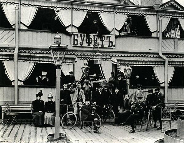 Dviratininkų draugija, 1901