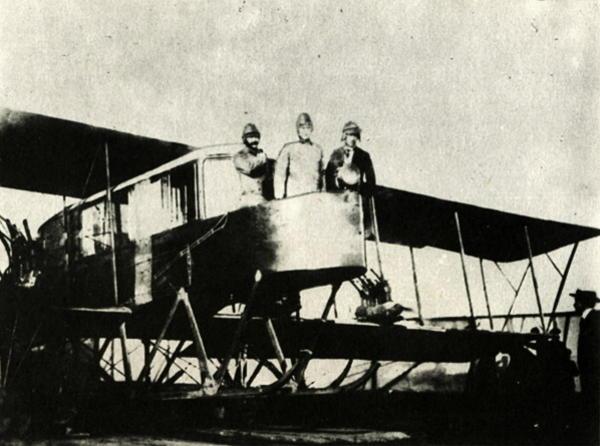 Aviatoriai Sikorskis, Generis, Kaulbars aeroplane, 1915