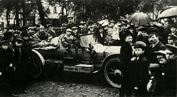 Lenktynės Peterburgas - Roma, 1901