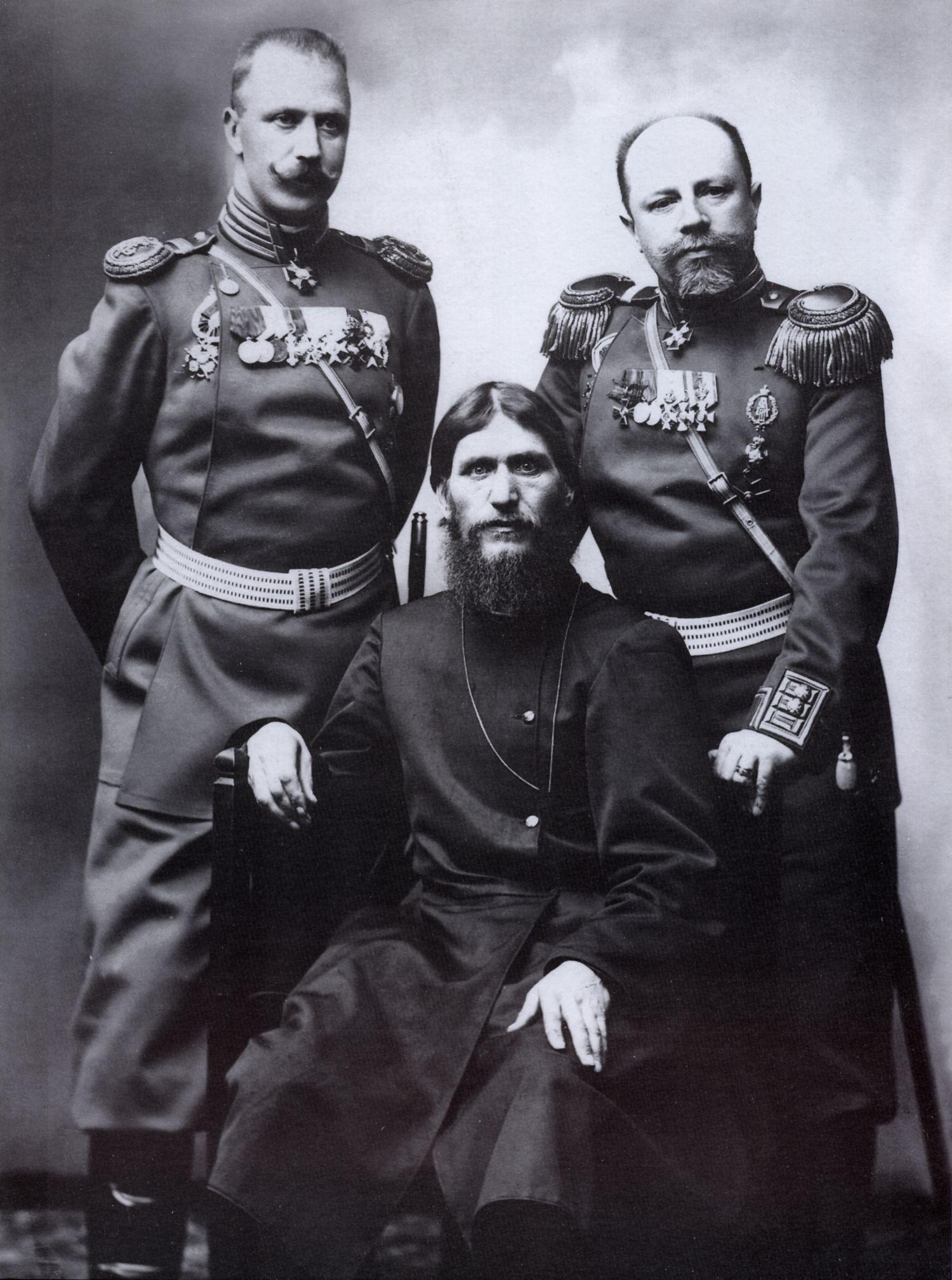 Grigory Rasputin, Majoras-Generolas Putyatin ir pulkininkas Lotman. 1904